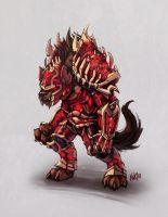 Gnoll conept 03 by KNKL