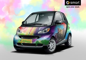Smart Fortwo Water paint by ZHtuning