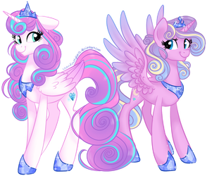 Royal Sisters by frostykat13