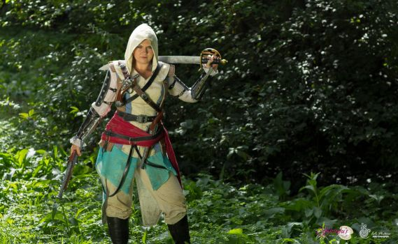 01. Female Edward Kenway - Assassin's Creed 4 BF by ShinjusWorkshop