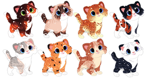 Cat Adopts 6 [300pts/3$ - OPEN} by Chintzy-Adopts