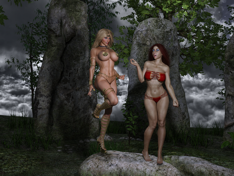 The Enchantress and the Warrior 231 by Nathanomir