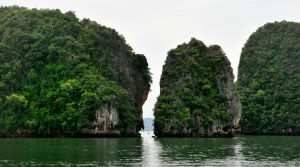 Karst scenery 2 - Phang Nga Bay, Thailand by wildplaces