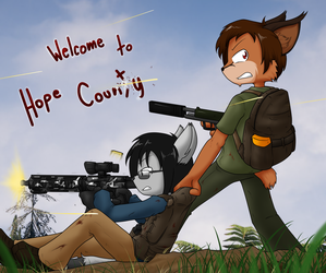Tearing up Hope county by Sandwich-Anomaly