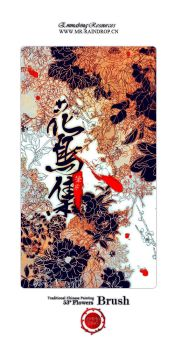 chinese painting flowers by Mr-raindrop-Emmabing
