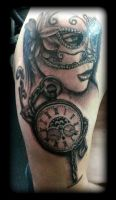 Masquerade by state-of-art-tattoo
