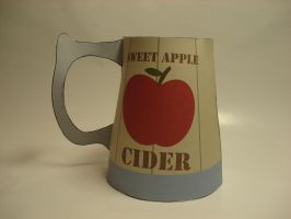 MLP - Apple Cider tankard papercraft by RocketmanTan