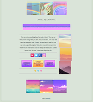 f2u - colorful sunset non-core custombox by Eliktras