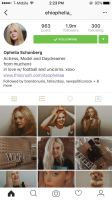 Ophelia Schonberg||IG Fake Profile|| by DaisyChan55