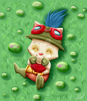 League Of Legends: Teemo by Sweetochii