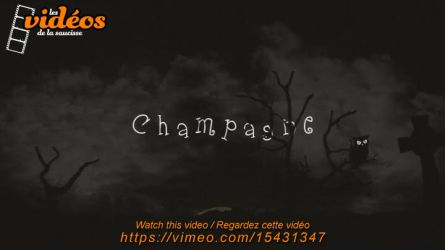 Champagne (animation / video) by lasaucisse