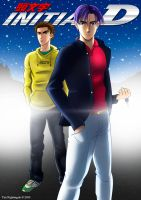 Initial D - Takahashi Brothers by Mantastic001