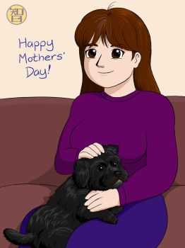 Mom's Day (featuring Molly) by Kairu-Hakubi
