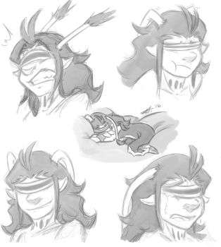 Serge Expressions by meoshira