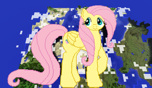 Fluttershy Minecraft by TheUnknown644