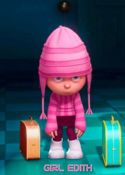 Girl Edith (Despicable Me) madechoo by madecho