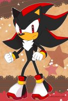 Sonic Postcard - Shadow by Crystal-Ribbon