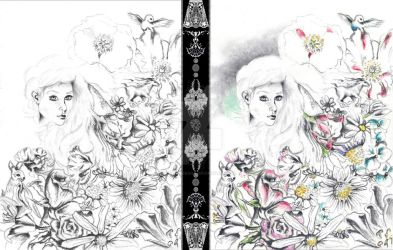 Flowers And Dreamscapes {1}: Special Edition by katpatterson