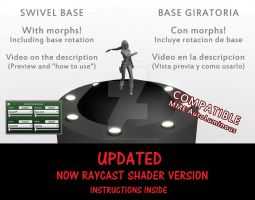 MMD Stage_Swivel Base/Base Giratoria UPDATED v0.2 by IgnisDraconi