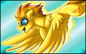 Drop by StormBlaze-Pegasus