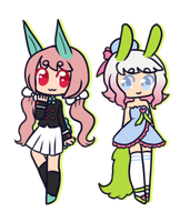 [ Bunnies ] by hello-planet-chan