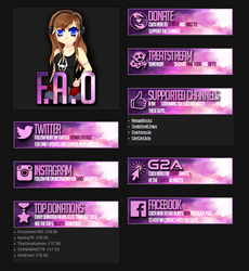 Twitch icons and buttons. by smallruubzz
