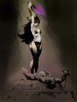 A tribute to Frank Frazetta by crixus
