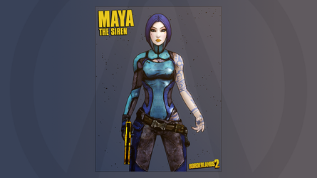 Borderlands 2 - Maya - The Siren by QuaiR