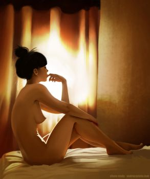 By the window by andrecastelo