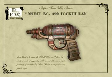 The Model 490 Pocket Ray by davincisghost