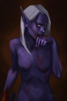 Blood for the Blood God by Linitha