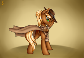 Threnody - the best sheriff by Shido-Tara