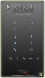 Cursors Pack : Eclair by MAGNUMHEARTED