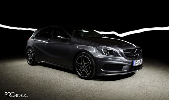 Mercedes A-Class in the light by PaMa05
