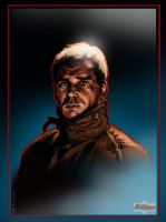 Harrison Ford: Blade Runner by GerryKissell