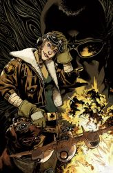 Wild Blue Yonder cover color by nelsondaniel