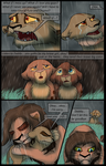 Raised In Hate Redraw Contest Entry: page 58 by RainstormCheetah