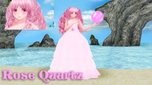 Rose Quartz MMD Model DL by Allena-Frost-Walker