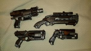 collection of small arms  by AlTheGeek