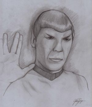 Live Long and Prosper by TargonRedDragon