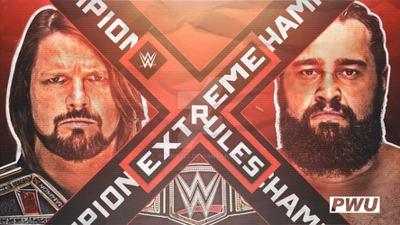 Extreme Rules 2018 by weebo322