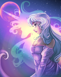 Princesses/Heroines - Lady Amalthea by Kachumi