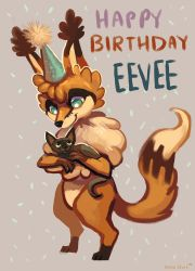 Eevee Gift by OrcaOwl