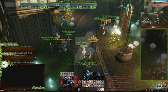 Archeage Stream overlay by efx88