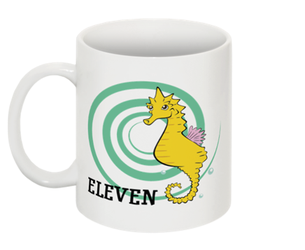 Counting Mugs 11 Sharp the Sea Horse by FanArtGal