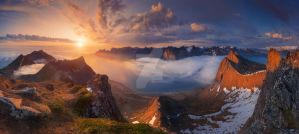 Norway. The island of Senja. by naumenkophotographer
