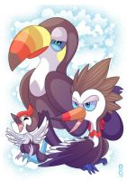 Pikipek Evolution