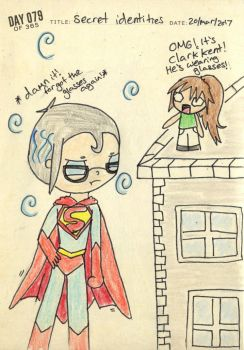 Day 79~ Secret Identities by princess2234