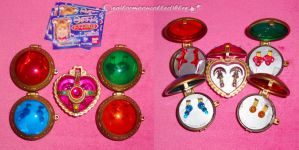 Sailor Moon PGSM Gashapon Set by onsenmochi