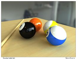 Snooker balls hdri by nelsu